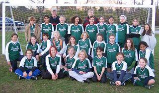 2005 6th Grade Girls - Team Pic