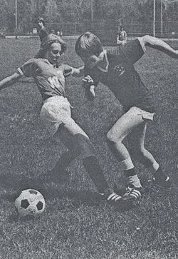 1984 MYSL Spring Soccer - the Manchester Raiders vs. Shaftsbury Picture