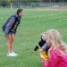 Coach Delana Underwood with K-Kickers