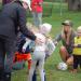 Coach Heidi Bourhill with PreK Kids