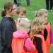 Coach Julia Brand with PreK Kids